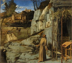Giovanni Bellini's Ecstasy of St Francis