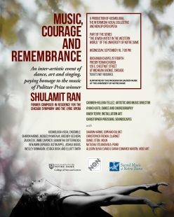 REV Music Courage Remembrance 8x10Posters Sept 16