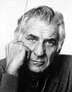 Composer/Conductor Leonard Bernstein
